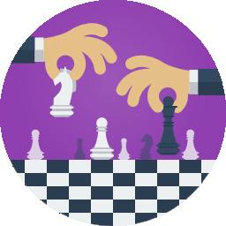 Imagem de peças de xadrez, representando os indicadores de RH