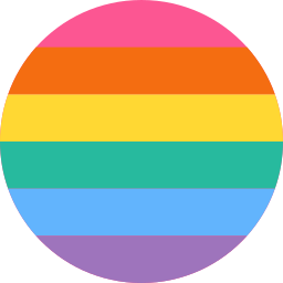 Imagem da diversidade de cores lgbt