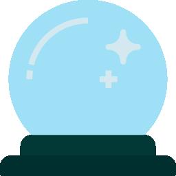 Imagem de uma bola de cristal, representando o futuro do recrutamento e seleção