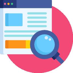 ícone representando recrutamento e seleção online